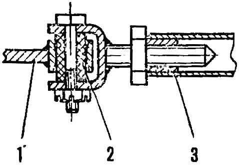 Рис. 5. Шарнир рулевой трапеции