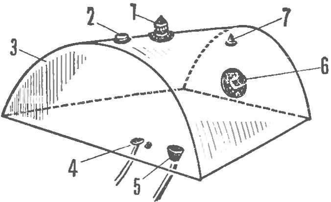 Рис. 2. Балластная цистерна