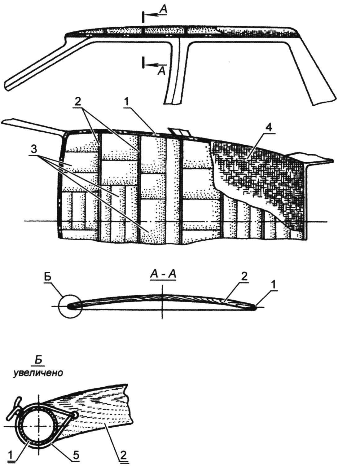 Формообразование кузова трицикла
