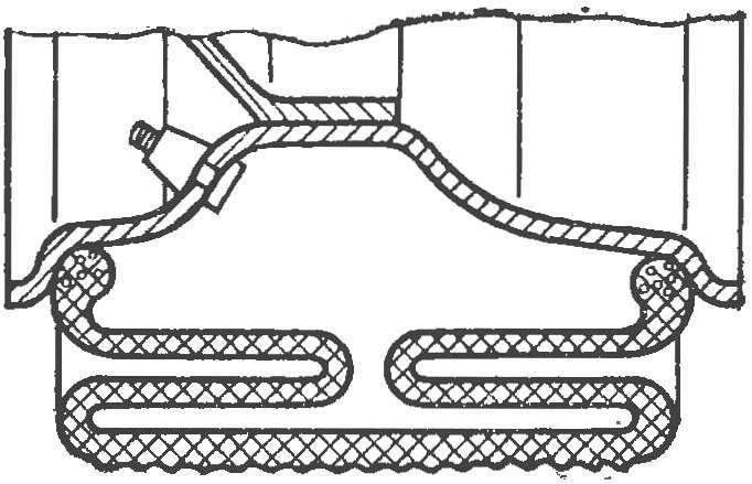 Рис. 5. Складывающаяся шина.
