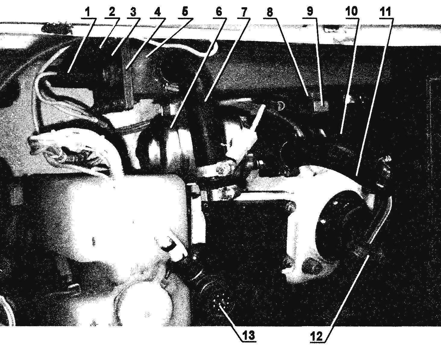Система зимнего подогрева автомобиля «Ока»