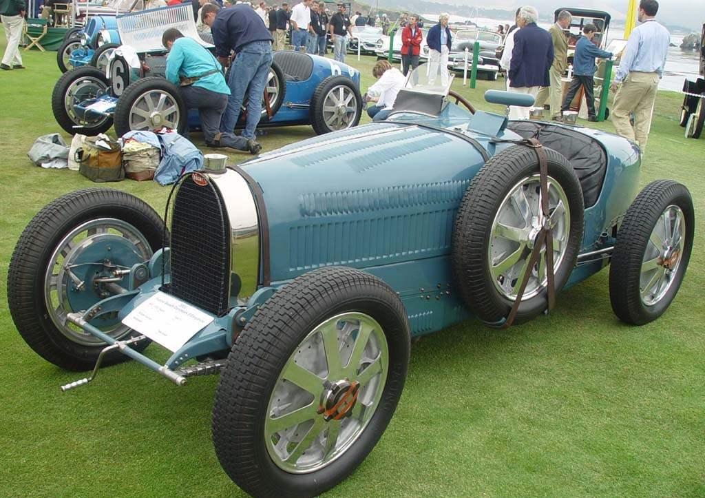 Знаменитый гоночный автомобиль «Бугатти-51» — 1932 г.