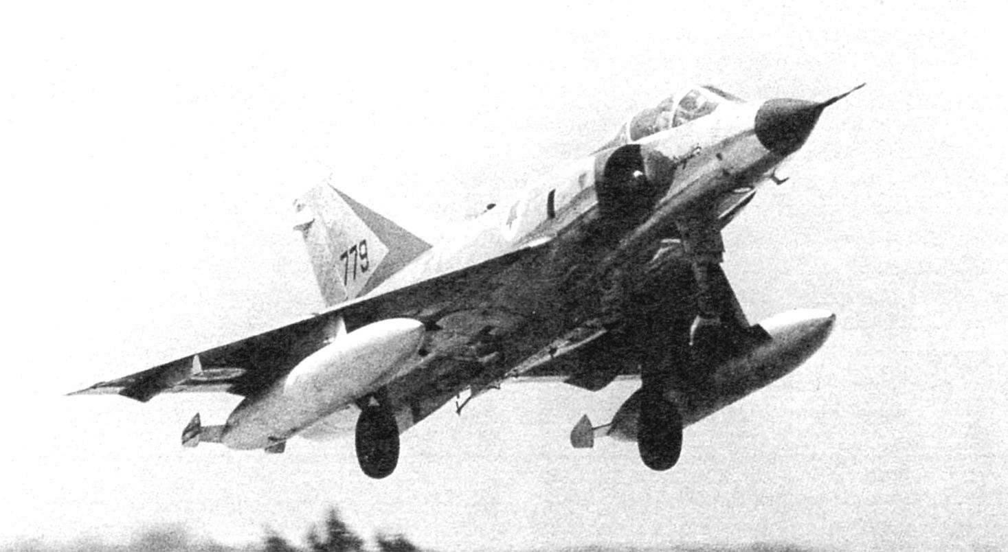 «Мираж» IIICJ из 119-й эскадрильи ВВС Израиля