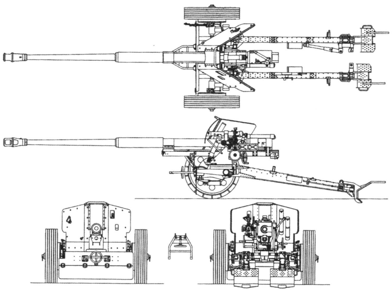 88-mm antitank gun Pak 43