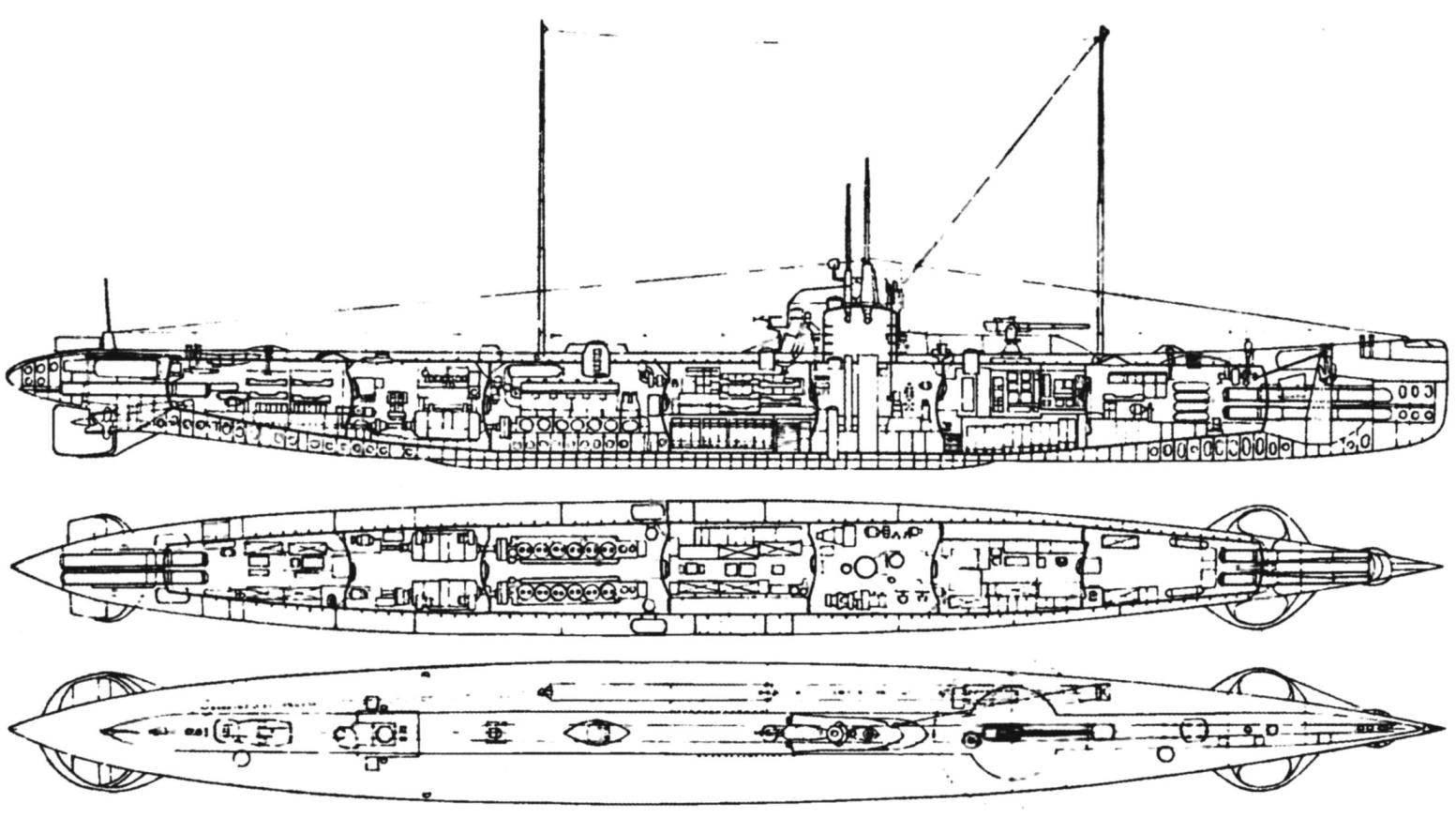 Подводная лодка «U-87» («Военный тип»), Германия, 1916 г.