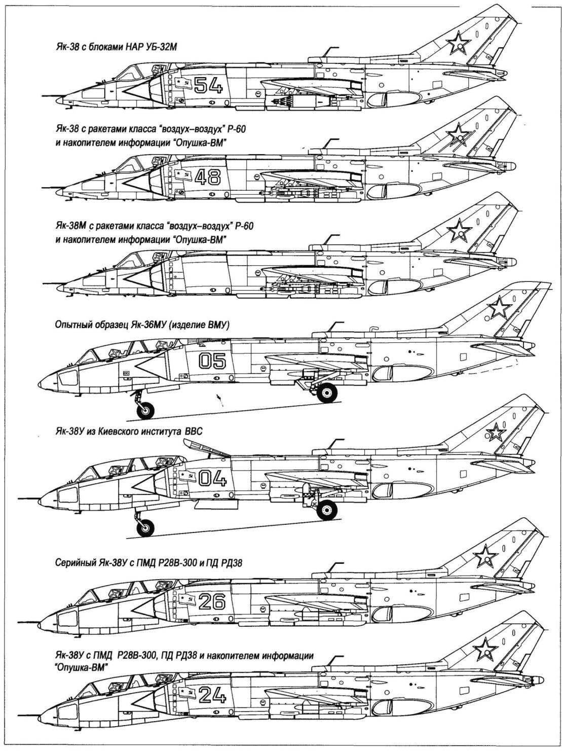 Палубный штурмовик Як-38М