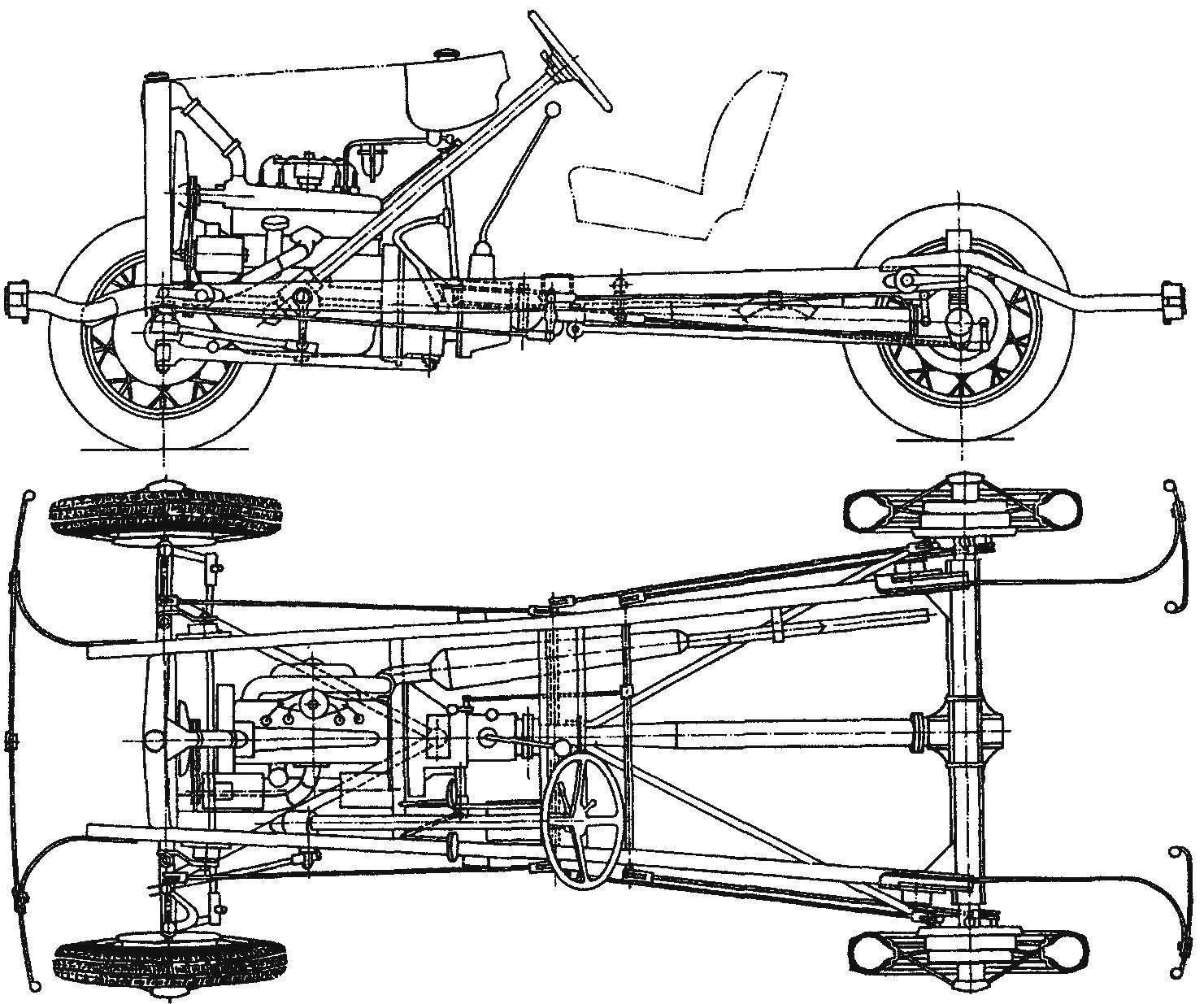 Ходовая часть автомобиля ГАЗ-А