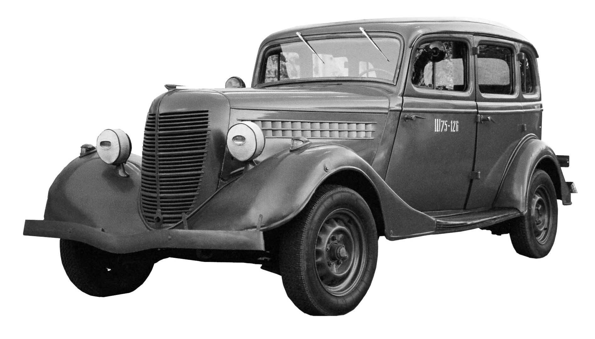 Автомобиль-такси с кузовом «седан» ГАЗ-А-Аремкуз