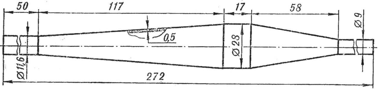Рис. 1. Резонансная труба.