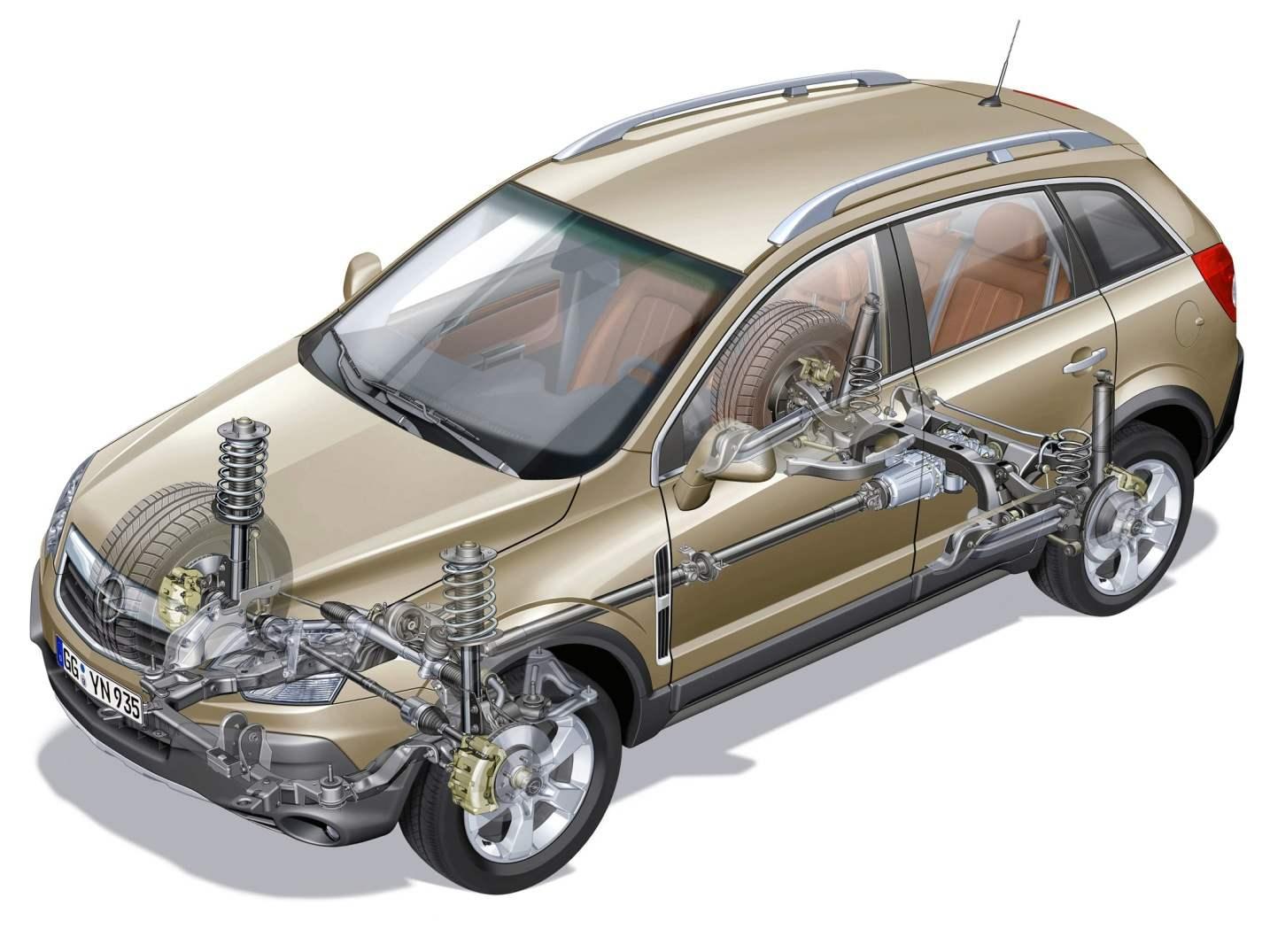 Полноприводной Opel Antara — типичный кроссовер, который прекрасно ведет себя лишь на шоссе и на достаточно ровной грунтовке