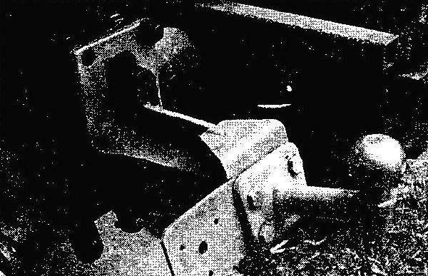 Форкоп для прицепа с автомобильным сцепным устройством