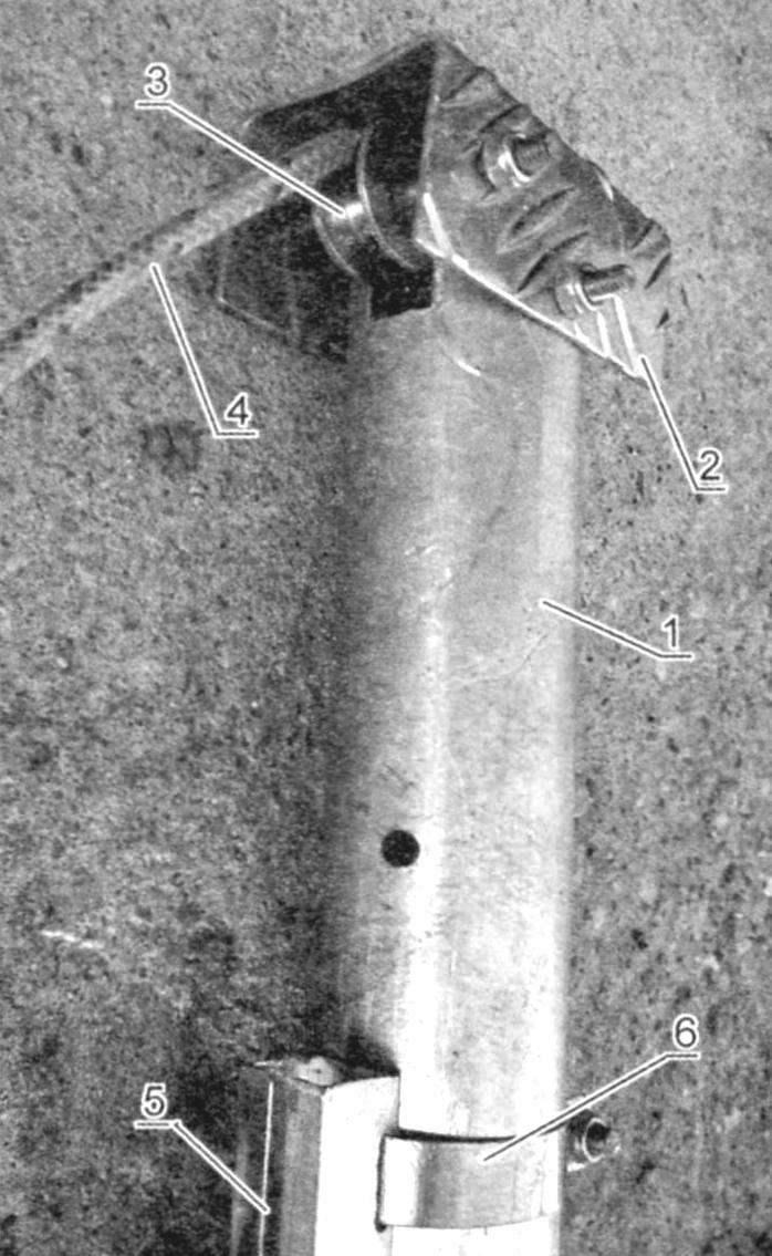 Шпор мачты (нижняя часть мачты)