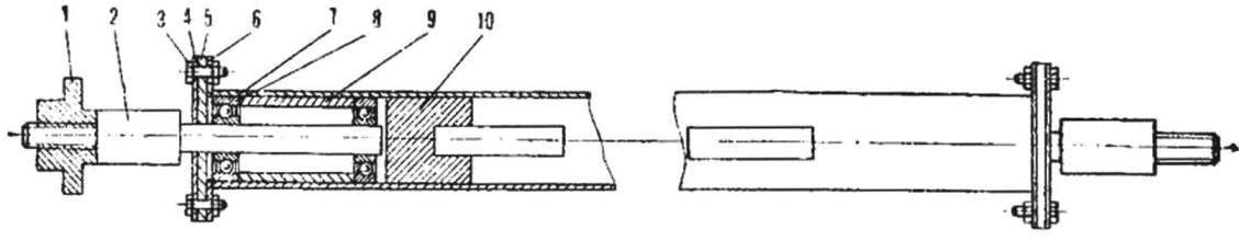 Рис. 3. Передняя ось