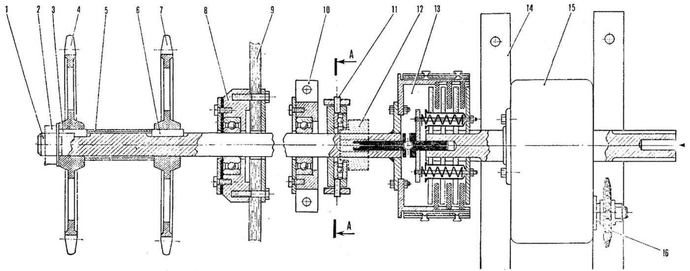 Рис. 8. Схема главной передачи
