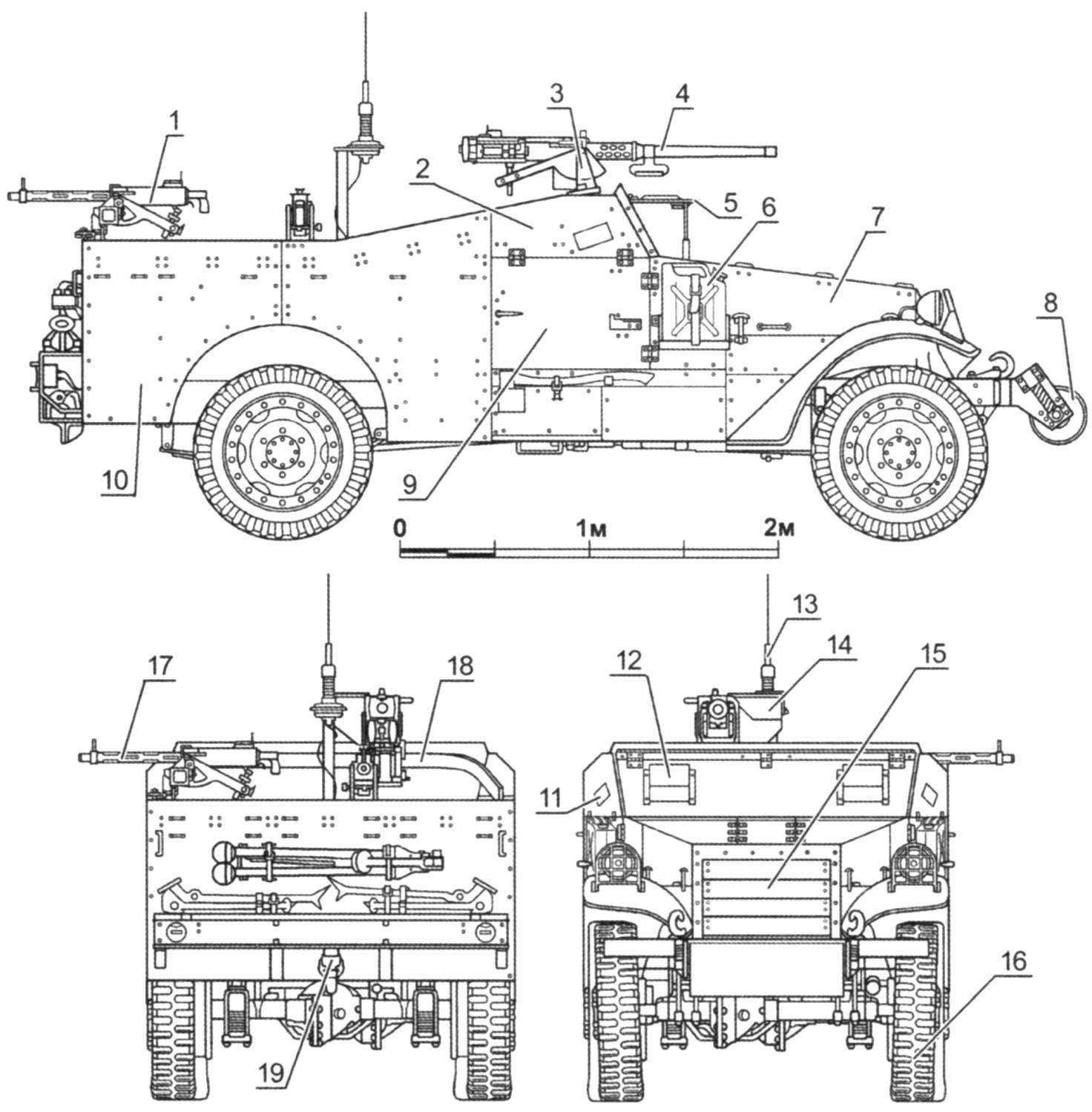 Бронеавтомобиль МЗА1