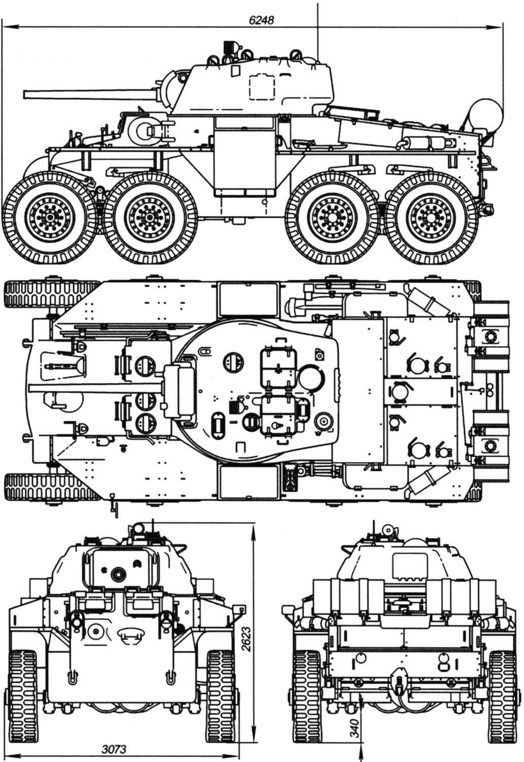 Heavy Armored Car T18E2