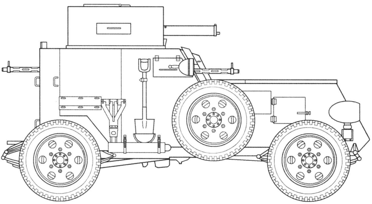 Т7 Armored Car