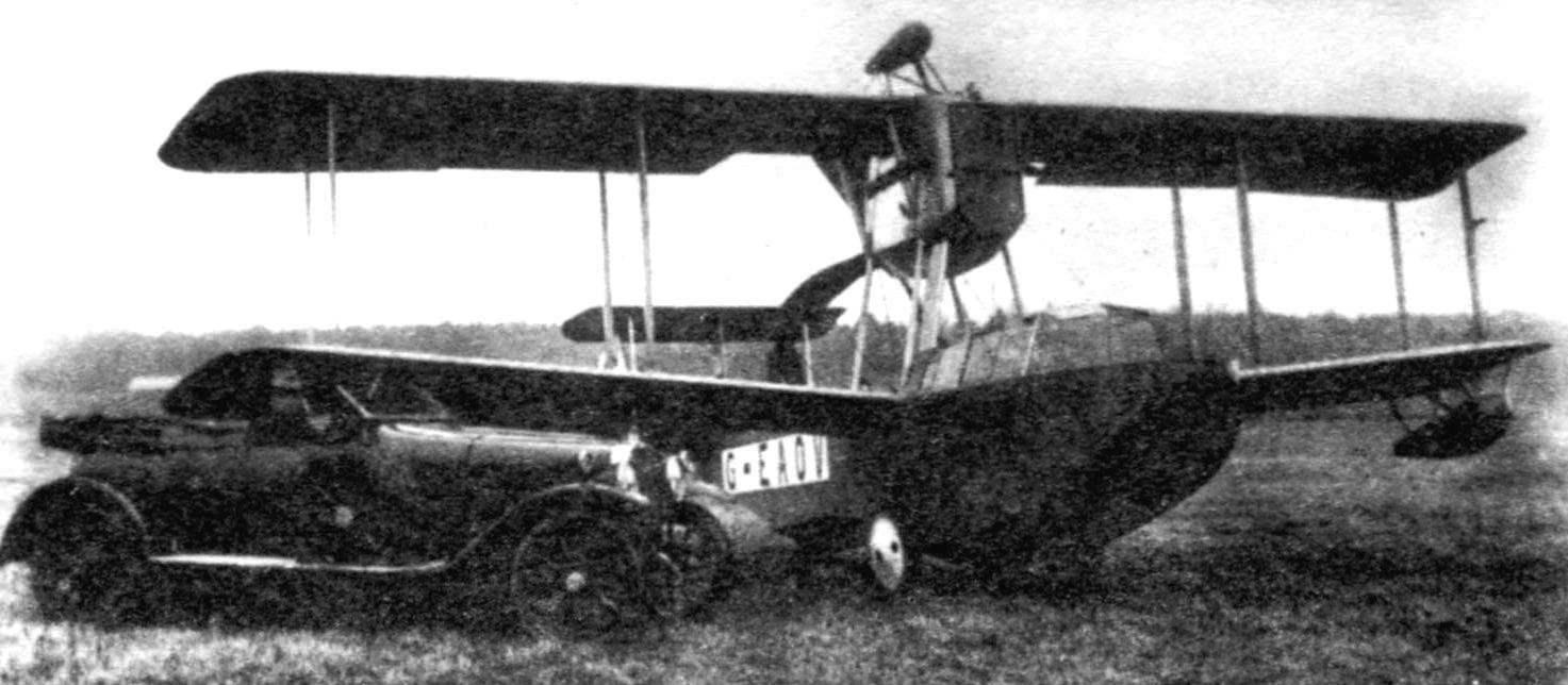 Опытный образец «Викинга» («Викинг» I) в Брукленде, 1919 г.