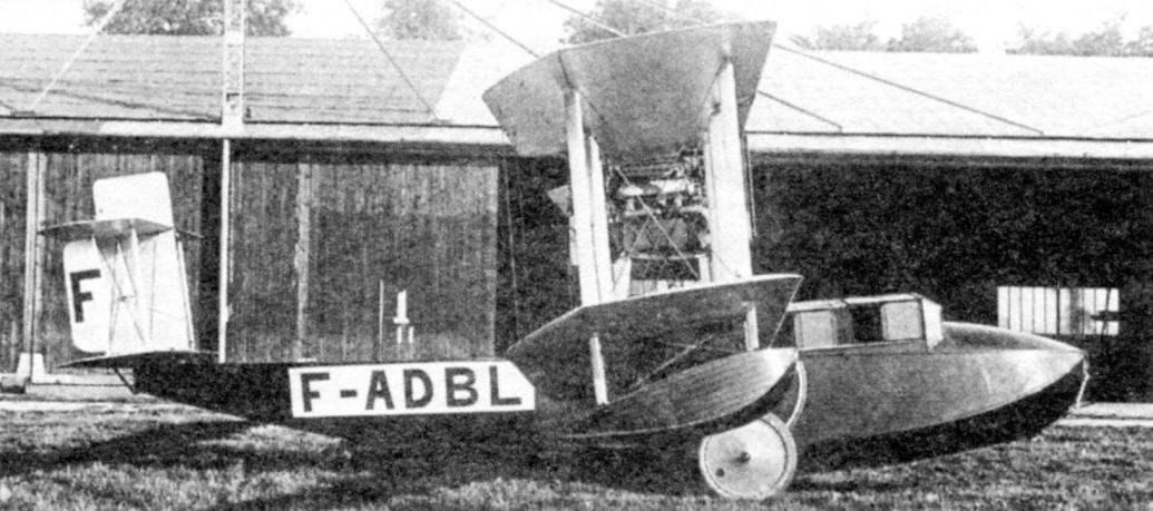 «Викинг» IV тип 54, изготовленный для военно-морского флота Франции, 1921 г.