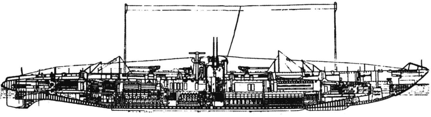 Подводный крейсер «U-140» «Капитан-лейтенант Веддинген», Германия, 1918 г.