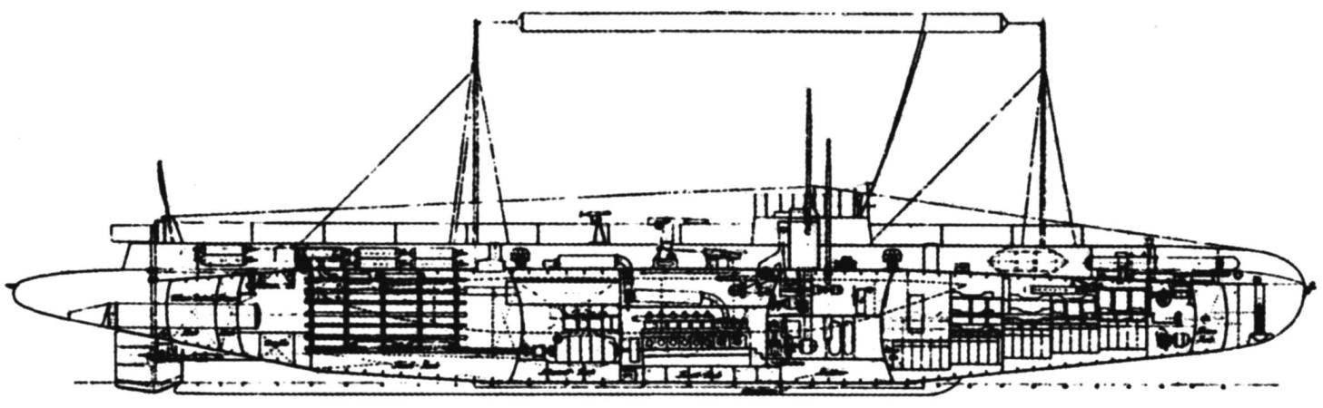Подводный заградитель «U-75» типа «UЕ», Германия, 1916 г.