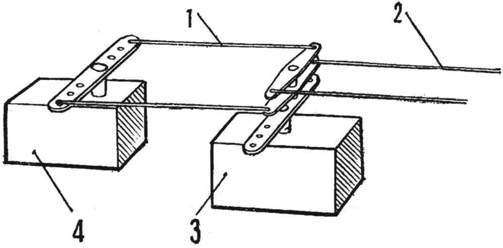 Fig. 2. Scheme lever drive