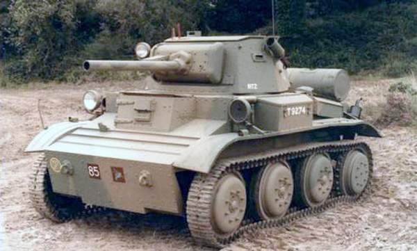 Легкий танк «Тетрарх» во время испытаний на НИБТ Полигоне в Кубинке. 1946 год