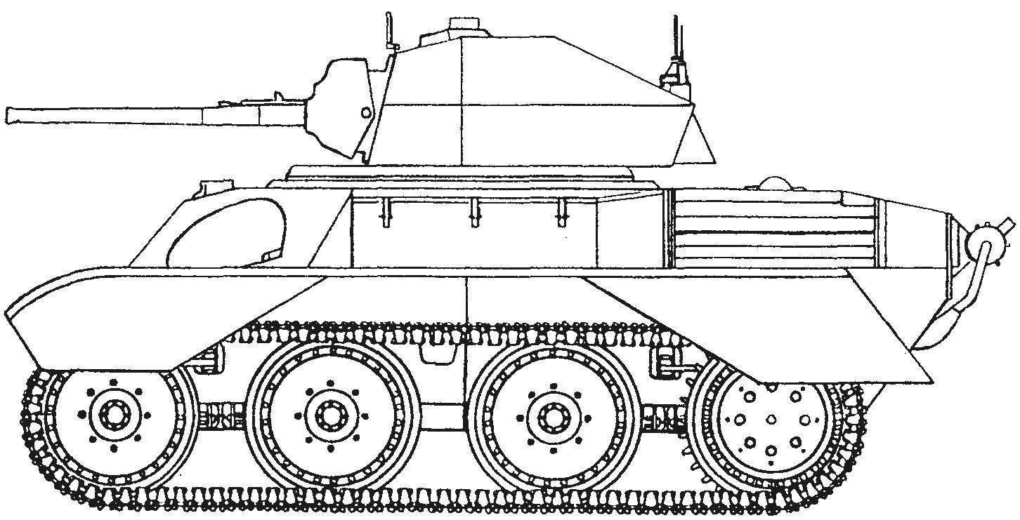 Легкий танк Mk VIII «Гарри Гопкинс»