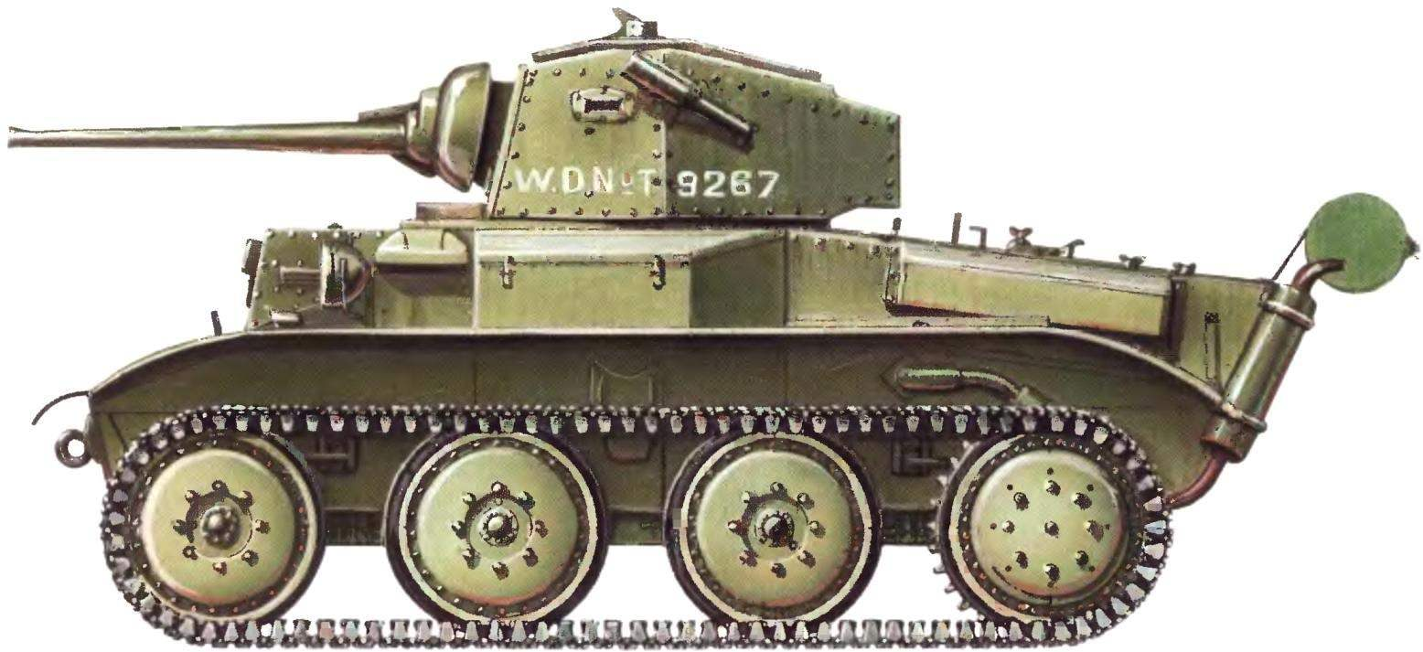 Легкий танк Mk VII «Тетрарх». 151-я танковая бригада Красной Армии. Закавказский фронт, 1942 г.