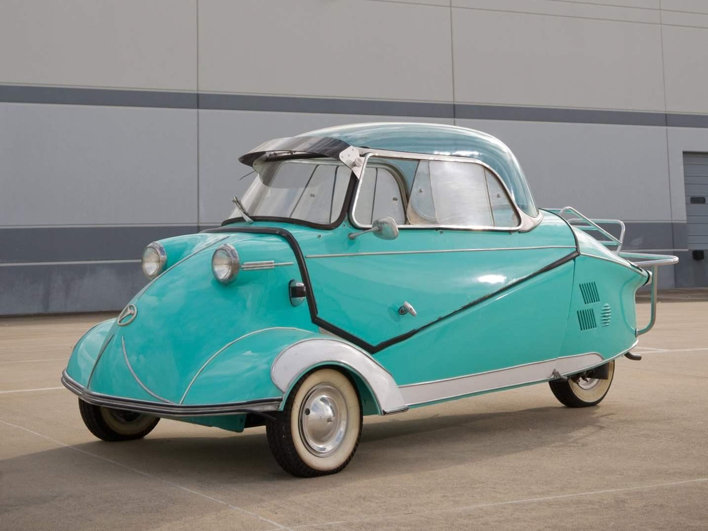 Компактный трёхколёсный немецкий автомобиль «Мессершмитт»