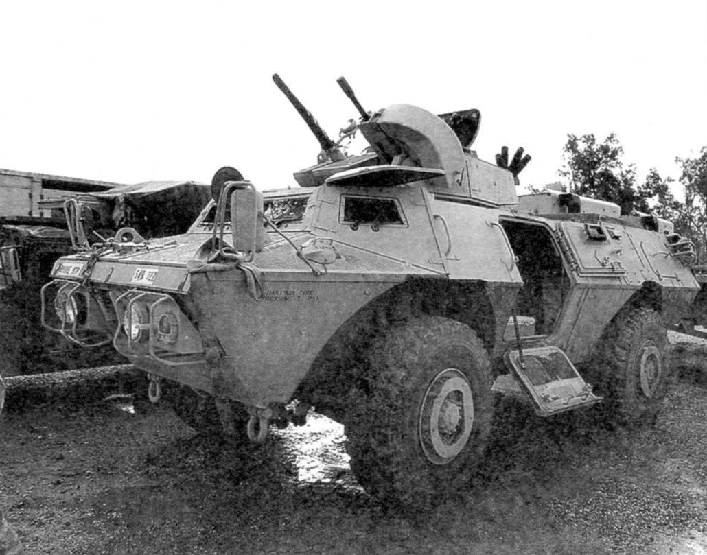 М1117 all-wheel-drive armored car with the wheel formula 4x4