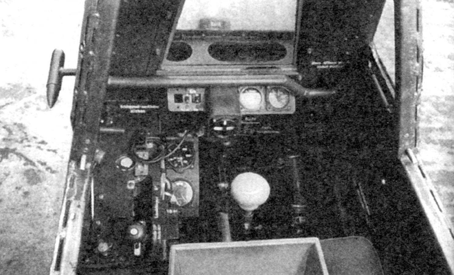 Кабина планёра-перехватчика BV 40
