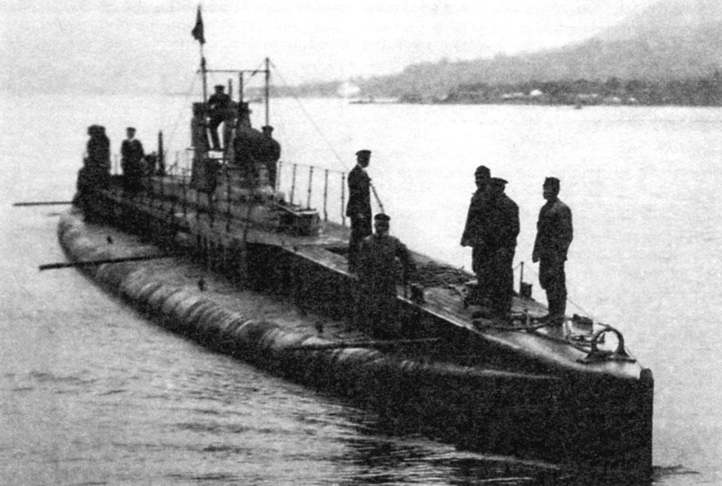 Подводная лодка «U-14», Австро-Венгрия, 1915 г.
