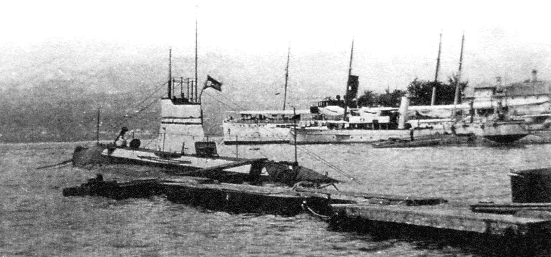 Подводная лодка «U-5», Австро-Венгрия, 1910 г.