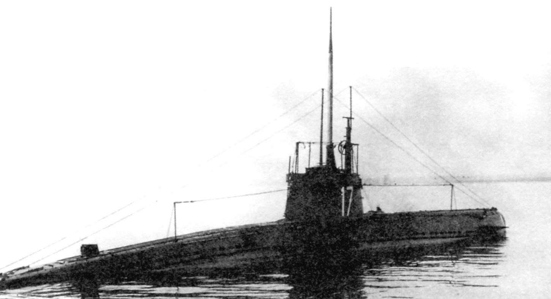 Подводная лодка «U-15», Австро-Венгрия, 1915 г.