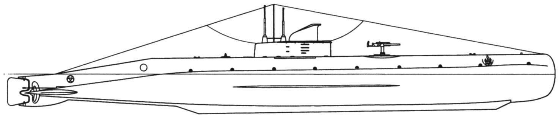 Подводная лодка «U-21», Австро-Венгрия, 1917 г.