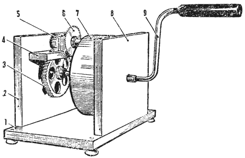 Fig. 1. Circular saw with manual transmission