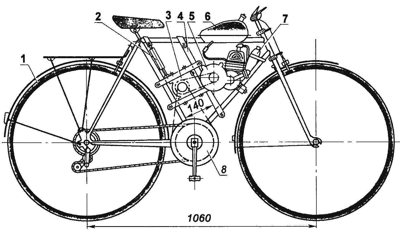 Сборка велосипеда своими руками 47
