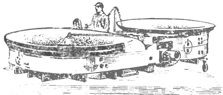 Рис. 4. Летающий «джин» фирмы «Пясецкий».