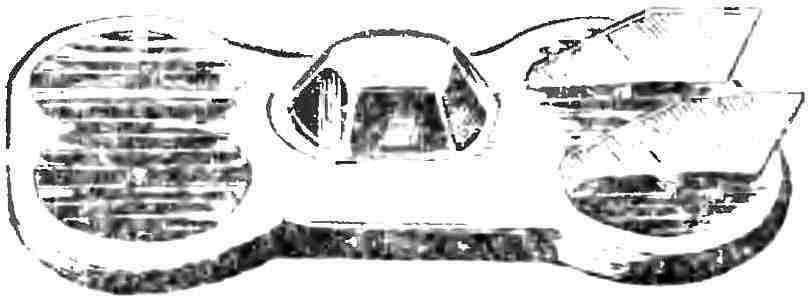 Рис. 7. Воздушное такси, созданное в Московском авиационном институте.