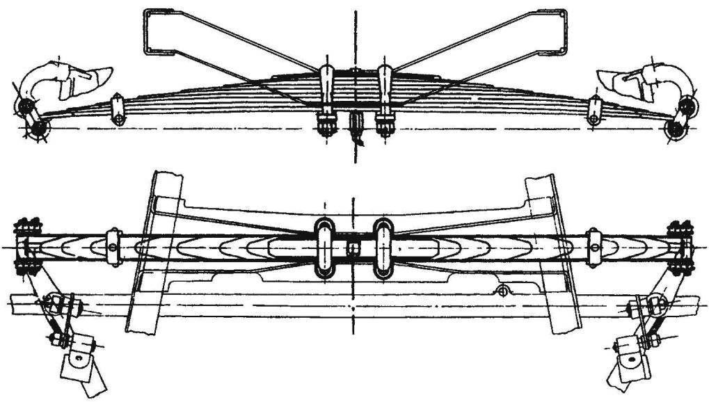 Передняя подвеска КИМ-10
