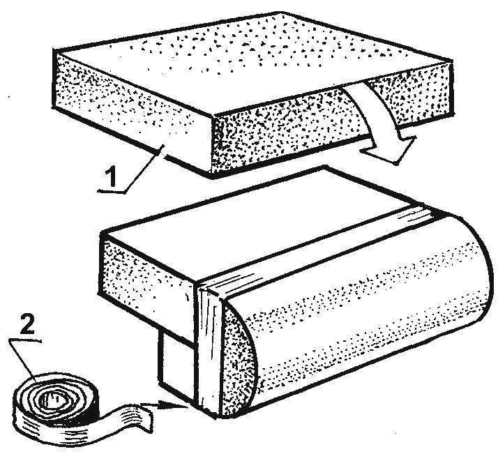 Рис. 5. Формирование верха спинки