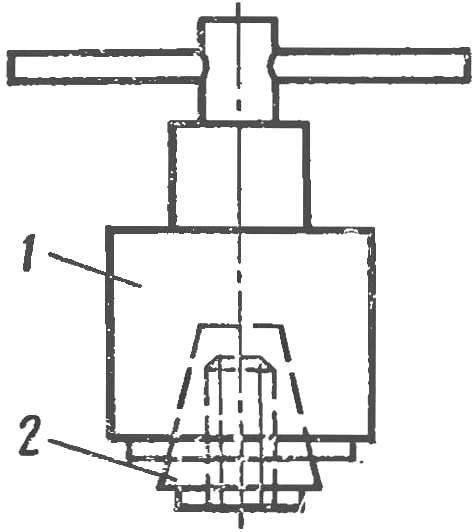 Composite cartridge length studs
