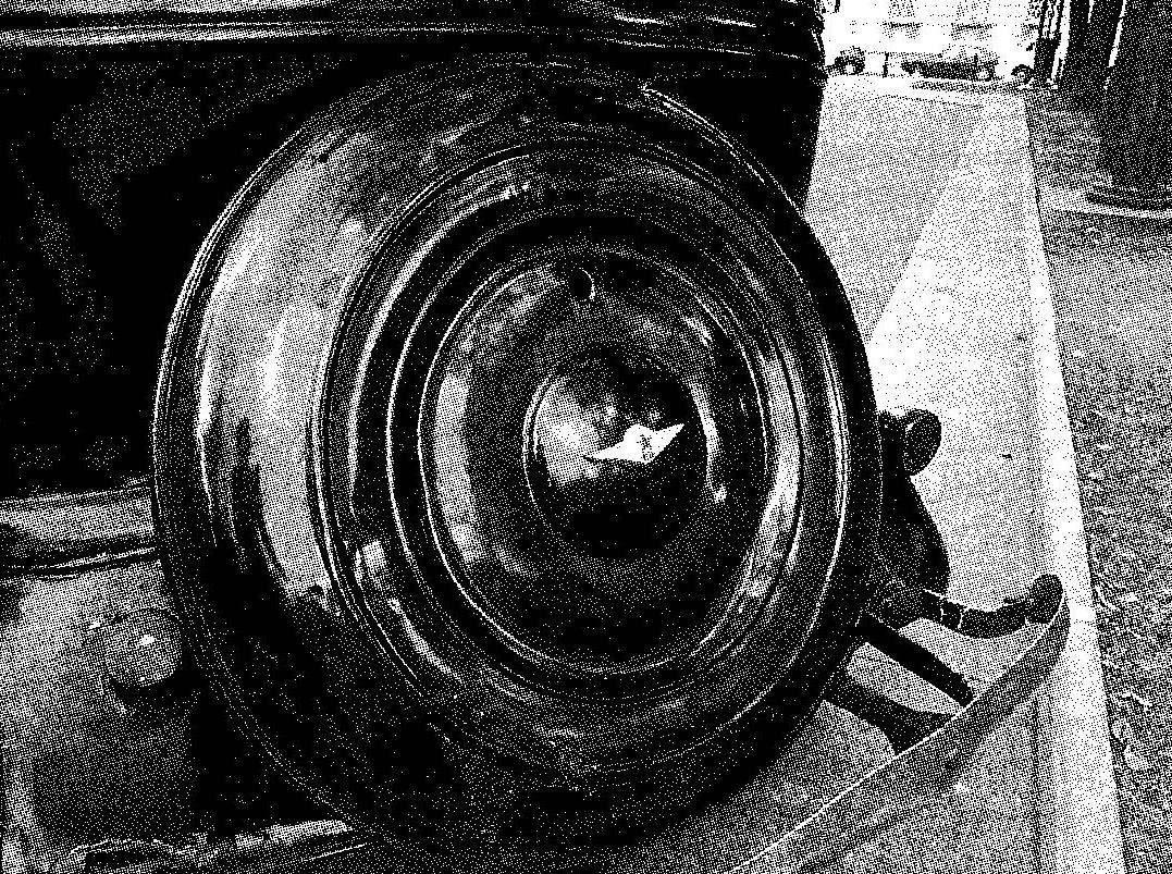 Кожух запасного колеса ГАЗ М-1