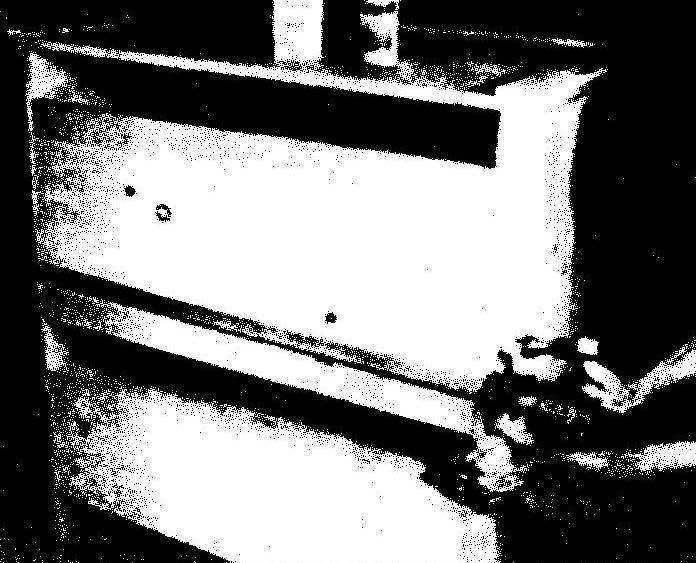 Установка панелей спинки шкафа