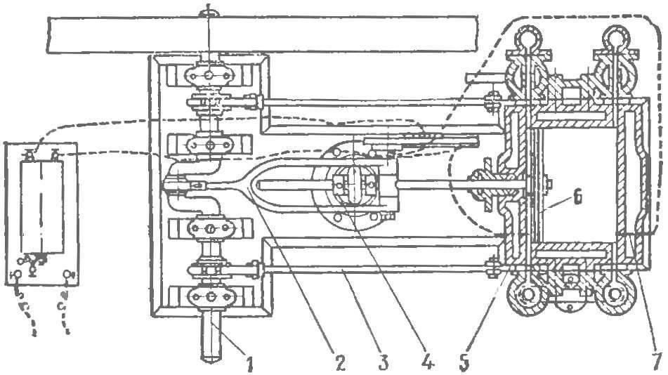 Рис. 1. Двигатель Ленуара