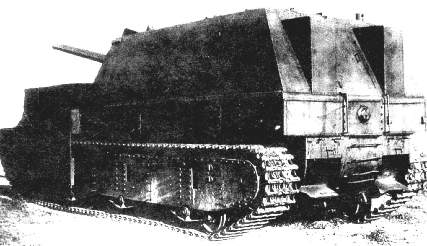СУ-14Бр-2. Вид с кормы