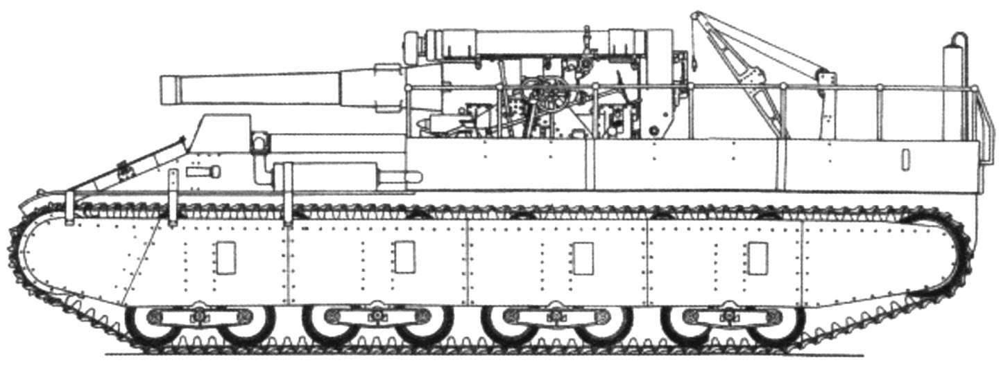 СУ-14 с 203-мм гаубицей Б-4