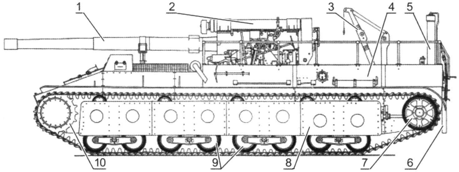 СУ-14-1 с 152,4-мм пушкой Бр-2