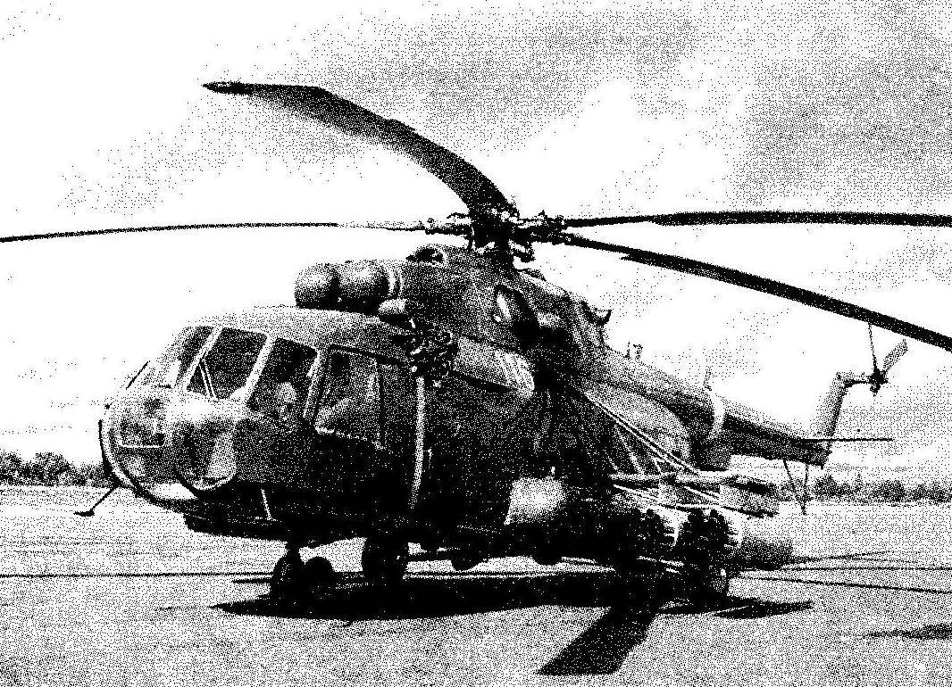 Export version of Mi-8MT military transport helicopter Mi-17